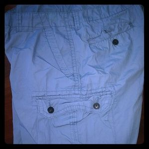 Men's light blue shorts
